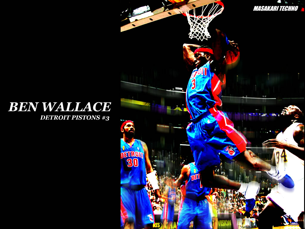 NBA 壁紙 画像 ダウンロード ベン・ウォレス ブラッド・ミラー ...
